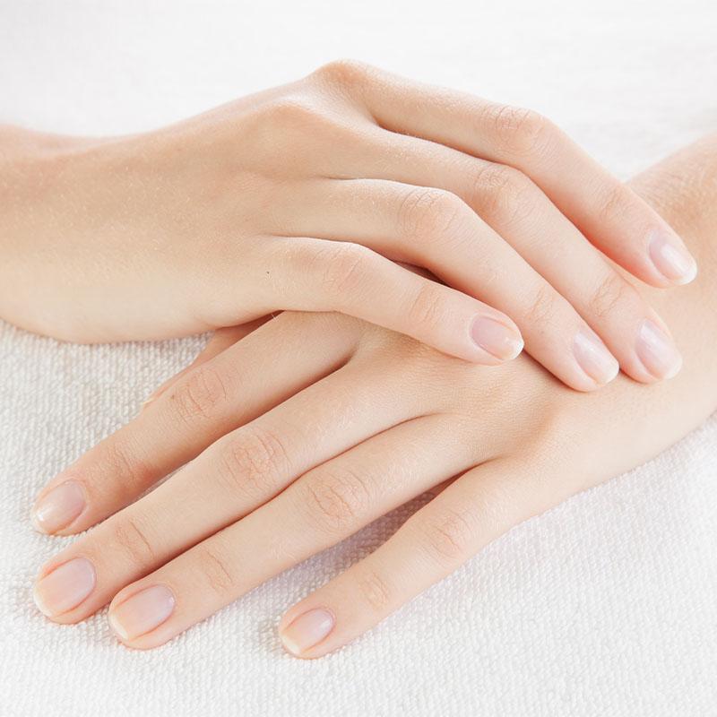 Beautiful healthy nails.